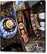 Church Interior Acrylic Print by Elena Elisseeva