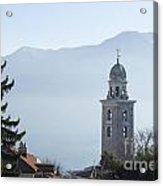 Church Tower Acrylic Print
