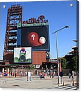 Citizens Bank Park - Philadelphia Phillies Acrylic Print by Frank Romeo