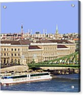 City Of Budapest In Hungary Acrylic Print