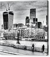 City Of London Acrylic Print