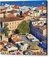City Of Nafplio Acrylic Print