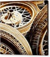 Classic Wheels Acrylic Print