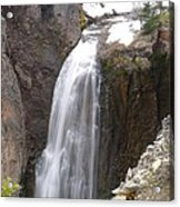 Clear Creek Falls Acrylic Print