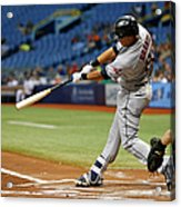 Cleveland Indians V Tampa Bay Rays 2 Acrylic Print