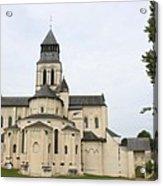 Cloister Fontevraud -  France Acrylic Print