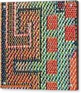 Cloth Pattern Acrylic Print