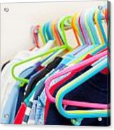 Clothes Hangers Acrylic Print