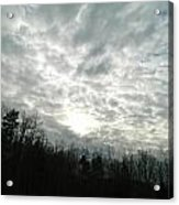 Cloudy Day  Acrylic Print
