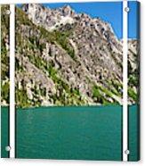 Colchuck Lake, Alpine Lakes Wilderness Acrylic Print