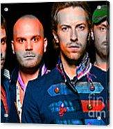 Coldplay Acrylic Print