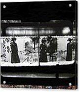 Collage Steinfeld's Department Store Window 1908 Tucson Arizona 2008 Acrylic Print