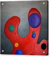 Color Pallette Acrylic Print