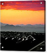 Colorado Sunset Acrylic Print