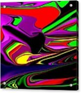 Colorful 3d Acrylic Print