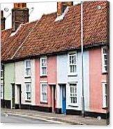 Colorful Houses Acrylic Print