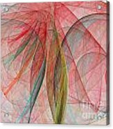 Colorful Silk Scarf Acrylic Print
