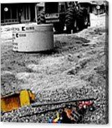 Construction Site Acrylic Print by   Joe Beasley