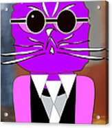 Cool Cat Acrylic Print