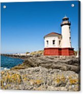 Coquille River Lighthouse Acrylic Print