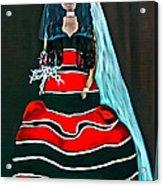 Cordillera Bride Acrylic Print