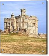 Cornwall - Pendennis Castle Acrylic Print