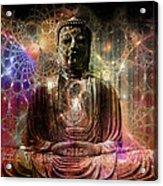 Cosmic Buddha Acrylic Print