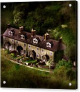 Country House In Bakewell Town Peak District - England Acrylic Print