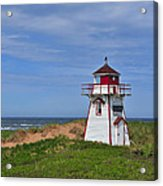 Covehead Harbour Lighthouse Acrylic Print