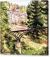 Cragside Acrylic Print