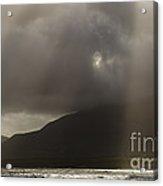 Crepuscular Rays Acrylic Print