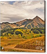 Crested Butte Autumn Acrylic Print