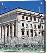 Croatian National Bank Zagreb Acrylic Print