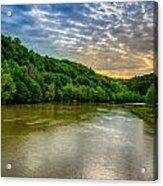 Cumberland River Acrylic Print