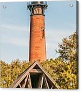 Currituck Beach Lighthouse On The Outer Banks Of North Carolina Acrylic Print