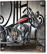 Custom Bike  Acrylic Print