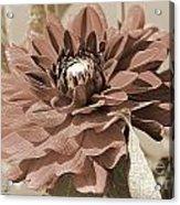 Dahlia Named Caproz Jerry Garcia Acrylic Print