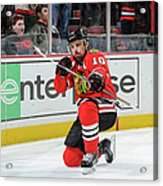 Dallas Stars V Chicago Blackhawks Acrylic Print