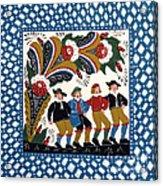Dancing Men  Acrylic Print