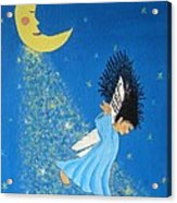 Dancing On Moonbeams Acrylic Print
