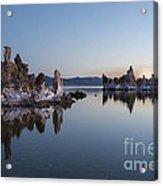 Dawn On Mono Lake Acrylic Print