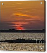 Day Is Done Acrylic Print by Joe McCormack Jr