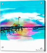 Daybreak At Pawleys Island Acrylic Print