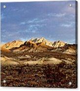 Death Valley Mountains Acrylic Print