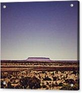 Desert Monolith Acrylic Print