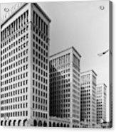 Detroit General Motors Acrylic Print