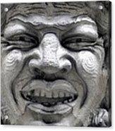 Devilish Smile Acrylic Print