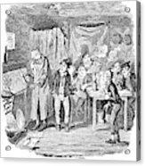 Dickens Oliver Twist Acrylic Print