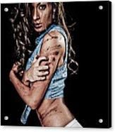Dirty Girl Acrylic Print