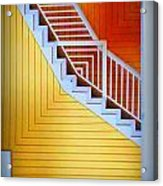 Distorted Stairs Acrylic Print